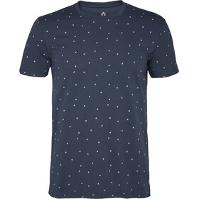 North Bend Diamond T-Shirt Herren peacoat blue